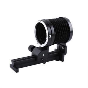 Freeshipping Macro Bellows Lens Tripod Mount Extension Bellows For Canon EOS EF Mount Focus Camera