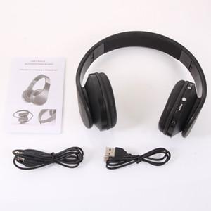 Lidere a tendência da moda e divirta-se no mundo da música usando este Headset Bluetooth Estéreo Sem Fio NX-8252 Hot Foldable