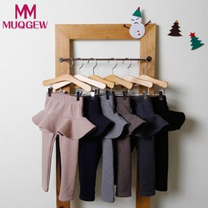 MUQGEW HOT baby Fashion para niñas vestido pantalones Trendy Warmer Baby Girl Culotte Child Solid Pantskirt Pantalones Legging