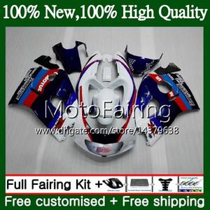 Karosserie GSXR-600 Für SUZUKI GSXR600 1996 1997 1998 1999 2000 GSX R600 Blau 5LQ35 GSXR750 SRAD GSXR 750 600 96 97 98 99 00 Verkleidungskarosserie