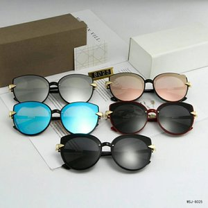 Высокое качество Марка дизайнер мода мужчины солнцезащитные очки УФ-защита gg Спорт на открытом воздухе старинные cc женщины солнцезащитные очки ретро очки с коробкой #8025