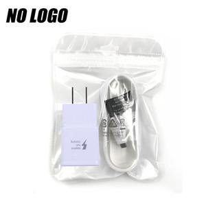 Adaptateur USB Chargeur rapide Adaptateur Turbo gonfleur UE US Branchez le câble rapide pour Samsung Galaxy Note8 S8 plus No Logo