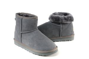 2018 frete grátis alta qualidade WGG senhoras clássicas botas de cano alto das mulheres botas de neve bota de inverno