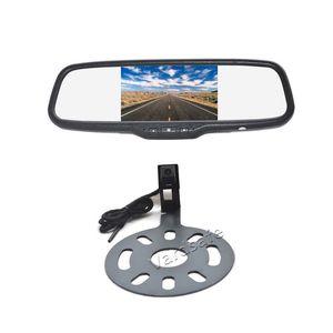 Vardsafe VS662C | Câmara de Segurança Automóvel + Monitor de Espelho Clip-on para Jeep Wrangler (2007-2018)