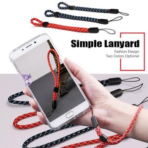 Cinta de pulso curto colhedor unisex textura tecida durável cinta de mão de nylon ket colhedor universal para smartphone câmera 1000 pçs / lote