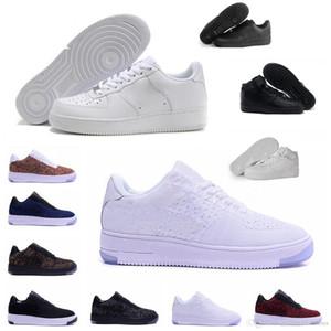 Nike Air Force one 1 Sapatos Clássicos MID 07 One Homens Mulheres Tênis De Corrida 1 Preto Branco Esporte Sapatilhas Sapatilhas de Skate Ocasional Preto Tênis tamanho 36-46