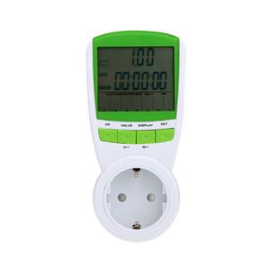 Wattímetro digital voltímetro portátil Medidor de Potência tester 230 V 50Hz LCD Digital Wattage Voltage Current Frequency Monitor Analyzer