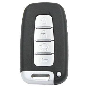 4b de boutons de voiture intelligent à distance Fob Shell Shell 433 MHz pour Hyundai IX35 I30 avec puce ID46 avec lame vierge