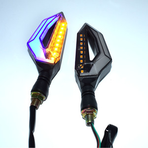 ل Yamaha MT01 MT03 MT07 MT09 MT09 MT25 MT10 MT125 دراجة نارية سوبر مشرق 14 الصمام بدوره إشارة أضواء مؤشر العنبر وامض