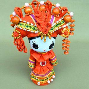 The creative design of cartoon national jewelry, ornaments, dolls Home Furnishing cartoon gift shop
