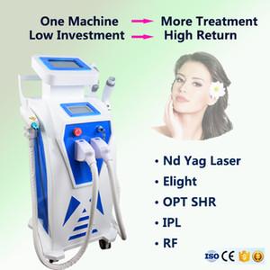 2020 NOUVEAU Diode OPT SHR Épilation laser IPL machine rides enlèvement Approuvé par la FDA Q-Switch Nd Yag Laser Hair détatouage