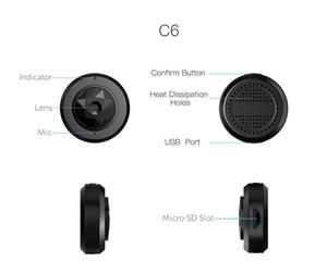 C6 Micro WIFI Mini cámara HD 720P con aplicación para teléfono inteligente y cámara de visión nocturna inalámbrica Cámara de video de seguridad para el hogar