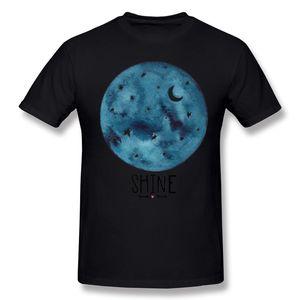 Latest Adult 100 Cotton Shine T-Shirts Adult Round Neck Gray Short Sleeve Tee Shirts Big Size Brithday T-Shirts