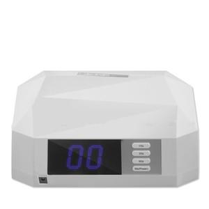72 W Büyük Güç Elmas UV Lamba Çivi GÜNEŞI Işık Kurutma Makinesi Için Daul Eller Ayrılabilir Baz LCD Ekran Lambası 10/30/60/99 s