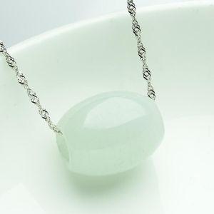 Smeraldo naturale Pendente Passepartout autentici tipi speciali di ghiaccio della collana di perle di giada Ciondolo che trasporta ciondolo in giada cerata