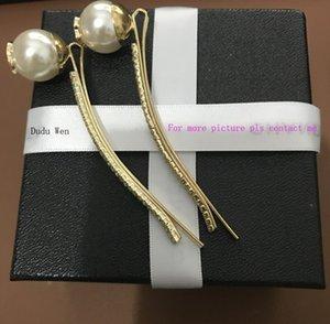 2018 Fashion C sytel Pearl pinzas para el cabello con brillantes pinzas para el cabello rhinestonerose gold Accesorios para el cabello clásicos de lujo regalo de fiesta