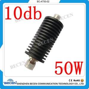 50W N-JK RF coaxial fixed attenuator, DC-3Ghz,50 ohm,10db,free shopping