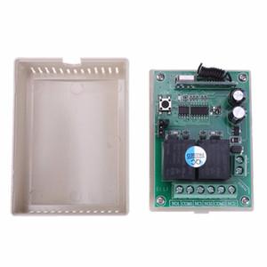 Praktische DC 12 V 2CH 433 MHz Drahtlose Fernbedienung Schalter Kompatibel 2262/2260/1527/2240 Code Drahtlose Fernbedienung