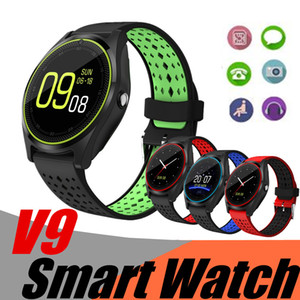 Bluetooth Smart Watch V9 With Camera Smartwatch Pedometer Health Sport Clock Men Women Smartwatch For Android&IOS