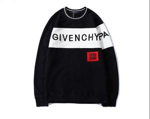 2019 venta caliente suéteres de los hombres suéter París suéteres mujeres / hombres de manga larga con capucha diseñador Streetwear Tops ropa chaqueta