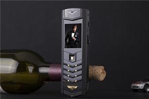 Разблокирована роскошная подпись двойная sim-карта мобильный телефон металлический корпус MP3 камера bluetooth металлический корпус классический 8800 мобильный телефон сотовый телефон бесплатно cas