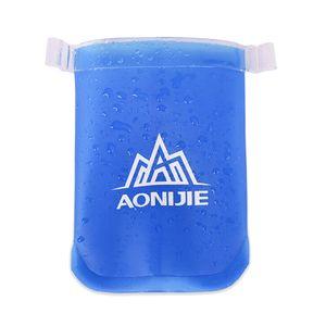 Nouveau Bleu souple Flasque TPU Squeeze Sports de plein air Running Bole 170ml