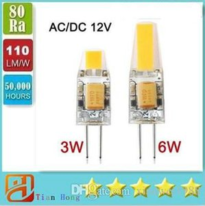 Dimmable G4 LED 12V AC DC COB Light 3W 6W High Quality LED G4 COB Lamp Bulb
