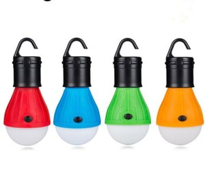 Portable Hanging Tent lamp Emergency COB LED Bulb Light Camping Lantern for Mountaineering activities Backpacking Free Shipping