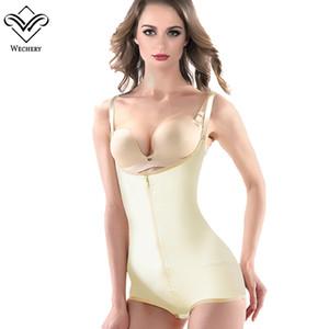 Wechery Body Shapers Bodysuits for Women Waist Trainer Latex Shapewears Corset Sexy Slimming Underwear Waist cinta modeladora Fashion