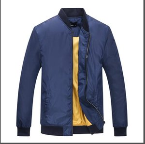 0 2018 Ücretsiz nakliye boyutu M- 2XLFall ince Erkekler spor ceket kaliteli su geçirmez kumaş Erkekler spor ceket Moda Fred Perry ceket \
