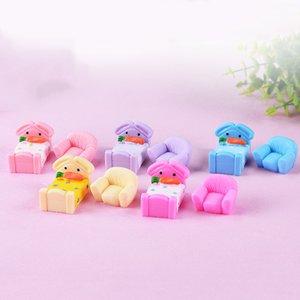 10 pz Dollhouse Decor Letto Divano Resina Artigianato Fata Giardino Miniature Bonsai Strumenti Terrario Figurine jardin Accessori Per la Casa Micro Paesaggio