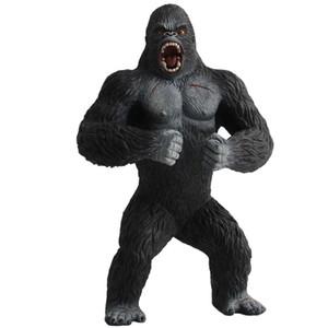 Animal realista simulación de juguete PVC modelo chimpancé figura de acción estatuilla niños niños juguete educativo regalo coleccionables