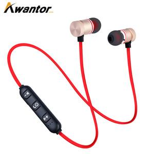 Беспроводные Bluetooth-наушники XT11 M9 Магнит Беспроводные наушники Auriculares Bluetooth-гарнитура для мобильного телефона Iphone X xiaomi Sport Music