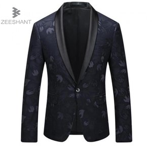 Zeeshant New  Men's Slim Fit Business Suit Blazer Jacket Male Good Groom Dress Blazers Male in Men's Suit Jackets XXXXXL