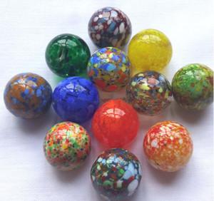 01 мрамор волна точка прекрасный жемчуг 22 мм стеклянный шар красочные дети мраморные бусины стеклянные бусины аквариум украшения аксессуары