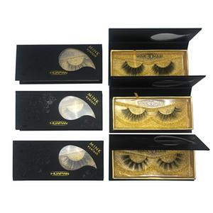 Absolue haute qualité 3d cils de vison épais vison vrais cheveux faux cils naturels pour beauté maquillage 10 modèles 3d vison