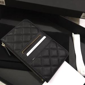 Yeni 2018 Ünlü kadın marka havyar çanta yüksek kaliteli orijinal malzeme telefonu çantası hakiki deri uzun vesikalık çanta.