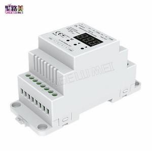 DL DMX512 a 4CH 0-10 V Decoder 0-10 V Dimmer LED DMX 512 Segnale a segnale 0-10 V Controller RGB / RGBW Dimmer a 4 canali DC5V-24V