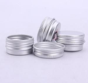 5g Cosmétique Rechargeable Crème Conteneurs Lèvres Brillant En Aluminium Maquillage Cas Vides Bocaux Pots Cosmétiques LX1285