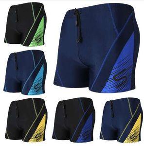Verão Swimwear Homens Sexy Swim Trunks Piscina Beach Wear Briefs Menino Boxer Shorts Maiô Surf Terno de Banho Tamanho Grande