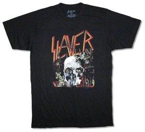 Slayer Güney Cennet Albümü Sanat Siyah T Gömlek Yeni Resmi Bant Merch
