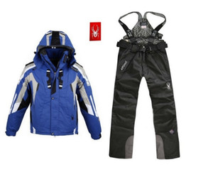 Chaqueta de esquí de escalada para hombre Trajes de esquí para exteriores de hombre Pantalones de esquí para exteriores de invierno s-2xl