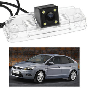 New 4 LED Car Rear View Camera Reverse Backup CCD fit for Ford Focus HATCHBACK 2009 MK2
