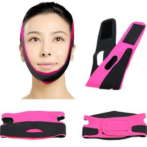 Hot Chin Cheek Slim Levantar Anti Rugas Máscara Cinta Banda V Faixa de Linha Cinto Mulheres Emagrecimento Facial Beleza Ferramenta