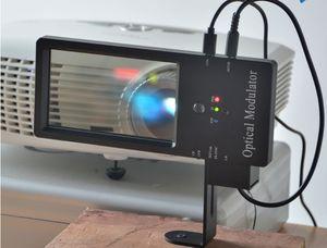 3D Polarização modulador para Home Theater com o cinema RealD passiva Eyewear circular polarizador 3D para DLP sistema 3D passiva