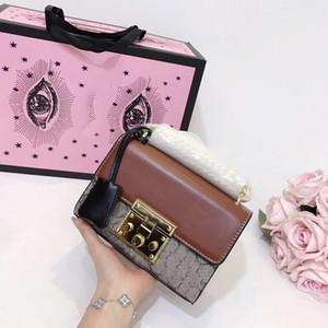 nuovo arrivo borse classiche eleganti con borsa tracolla hardware oro fasion per borsa crossbody femminile spedizione gratuita donna