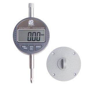 Freeshipping Dijital Göstergesi 0-12.7mm / 0.01 Dijital Ölçer Dial Test Göstergeleri Dial Ölçer Mikrometre Kaliper Tedbir Araçları