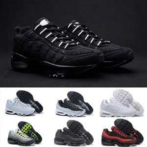 Nike Air Max 95 designer shoes Drop Shipping Scarpe da corsa per uomo Airs Cushion 95 OG Sneakers Authentic 95s New Walking Sconto Scarpe sportive Taglia 36-46