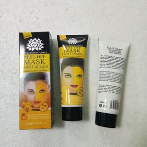 Golden Peel Off Masque Facial Cristal Noir Or Collagène Lait Lait Noir Remover Masque Visage Soins de la Peau