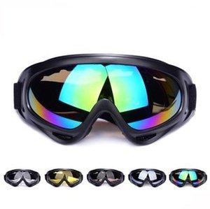 Whole Sale Multi Farben Outdoor Sport Radfahren Brille Windproof Brillen Riding Protected Eye Wear Sand Beweis Brille für Männer Nacht fahren